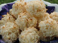 Easy coconut macaroon