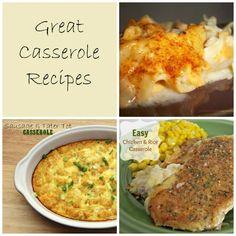 Great potluck recipes. Great casserole recipes.