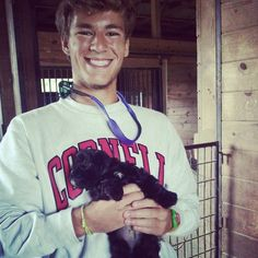 there is a special place in the world for cute boys with puppies