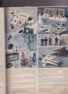 I GI JOE NIGHT Raven missile rocket bombe Cobra Vintage partie 1986 G