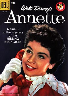 The Mickey Mouse Club (1955-58, ABC) — Annette Funicello comic book