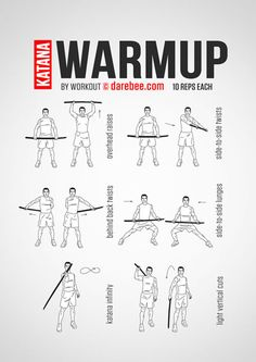 Katana Warmup Workout