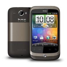 HTC Wildfire Sim Free Mobile Phone - Metal Mocha: Amazon.co.uk: Electronics
