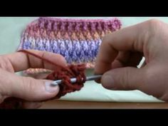 How To Crochet Ripple Stitch - RH