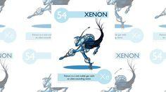 Lo xenon, un gas nobile dal nome vagamente alieno, è estremamente raro in natura.