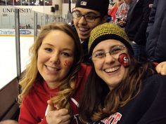 Sommer Storms, Stacy Lif and Cj Christian at St. Cloud State University.  January 19 2013