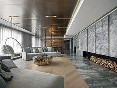 文|Living住宅美學座落河畔,100坪的寬廣空間,為居家設計提供絕佳的發揮舞台。屋主捨棄過去習慣的極簡風格,嘗試改走低調奢華路線,因此設計師以簡約大方的空間格局、精緻質感的素材,搭配充滿柔軟氛圍的陳設布置,替屋主營造一個既壯闊、奢華,卻又兼顧生活感受的溫暖之家。融合風華的悠然質感生活自玄關進入客廳,大面落地美麗河景率先映入眼簾,對稱的海灣型沙發,搭配球型懸空吊椅與鏤空金屬圓桌,既壯觀