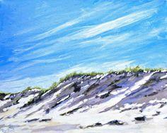 Dune-shadows by Holly Lombardo