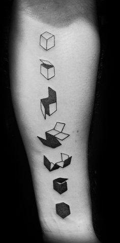 Geometric Tattoo Ideas (40)
