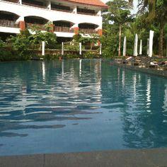 The Alila Diwa Goa pool at the Diwa Wing.