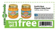 Earth's Best Discount Coupon