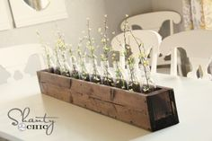 I'd like to make this planter box for my table at the cottage.