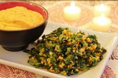 """stuffing"" and sweet potato mash"