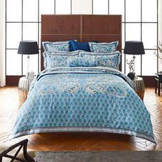 Sheridan Bright blue 'Morewett' bed linen- at Debenhams.com