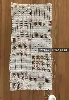 Crochet Cladding :: Mushrooms :: Grid Tablecloth: Yes … - Wallpaper Crochet Table Runner Pattern, Crochet Bedspread Pattern, Crochet Flower Patterns, Crochet Designs, Thread Crochet, Filet Crochet, Crochet Doilies, Crochet Yarn, Crochet Stitches
