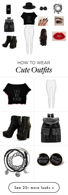 """""""outfit #1"""" by lola456-680 on Polyvore featuring Topshop, Forever 21 and Casetify"""