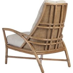 Blooming with thoughtful details: The Petal Lounge Chair pushes rattan design to…