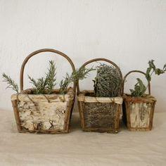 #Vintage #handmade baskets $88