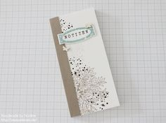 Stampin Up Anleitung Tutorial Notizblock Note Book Box Goodie Stempelmami 002