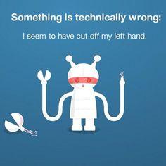 Twitters new Error page is... disturbing.