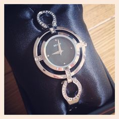 SEKSY - Elegant Quartz Analogue Watch £30 http://instagr.am/p/QrMECRSi8Q/  Genuine, Seksy watch comes with care instructions and guarantee.