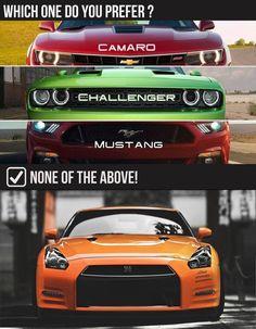 #camaro #hellcat #mustang #nissan #GTR #car