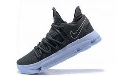 85da7f401cff Original Nike KD 10 Dark Grey Reflective Silver Mens Basketball Shoes  897815-005 Nike Shoes