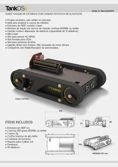 printer design printer projects printer diy technologie technologie - Robot Track Tank for Arduino Robotics Projects, Arduino Projects, Diy Electronics, Electronics Projects, Learn Robotics, Mobile Robot, Fighting Robots, Prusa I3, Robot Design