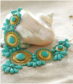 Curacao Turquoise Necklace from Soft Surroundings