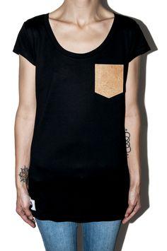 #12dag #feinstepanier #pocket #kork #cork #mode #fashion #handgemacht #handmade #shirt #tshirt #wien #vienna #bio #organic #fair #vegan