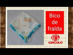 Versão destros: Bico leques e prendedor de chupeta para fralda em crochê # Elisa Crochê - YouTube Elo 7, Youtube, Make It Yourself, Crochet, Hand Fans, Crochet For Baby, Crochet Flowers, Diapers, Ideas