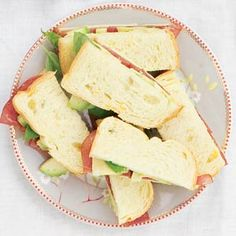 Recept - Sandwich rookvlees-avocado - Allerhande
