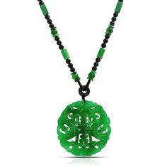 Bling Jewelry Chinese Jade Pendant ($30) ❤ liked on Polyvore featuring jewelry, necklaces, green, necklaces pendants, pendant-necklaces, green jade pendant, green jewelry, imitation jewelry, fake jewelry and jade necklace pendant