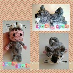 En este blogs además de mis creaciones, encontraras patrones en crochet de amigurumis ,flores,ponchos y mucho mas.