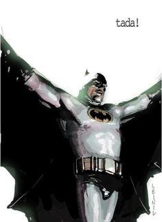 Batman by Leinil Francis Yu - simple and classy