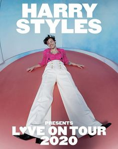 Harry Styles has announced a 2020 world tour, 'Love On Tour,' in support of his upcoming album Fine Line. The extensive run of shows will make a Las Vegas stop Harry Styles Concert, Harry Styles Poster, Harry Styles Live, Harry Edward Styles, Harry Styles Album Cover, Concert Outfit Winter, Concert Outfits, Brave, Jenny Lewis
