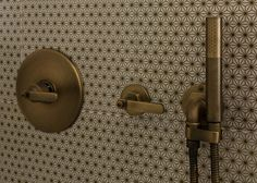 Elan Vital Thermostatic Shower Set & Hand Shower in Vintage Brass…