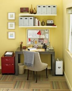 Rental Decorating – Home Office