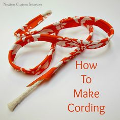 I've updated this video, and wanted to share the new version with you. Enjoy! Cording, which can also be called welt cord or piping, is an easy way to add a little extra pizazz to your sewing projects. We have already covered different ways to embellish pillows with cording and window treatments with cording, so […]