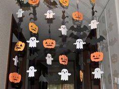 Easy Halloween Decorations, Halloween Displays, Halloween Crafts For Kids, Halloween Party Decor, Halloween Birthday, Halloween 2019, Cute Halloween, Halloween Treats, Halloween Infantil