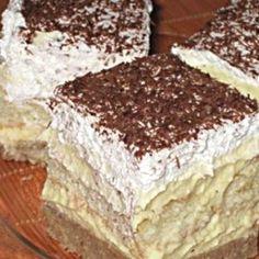 Gesztenyés-babapiskótás krémes mascapone instead of butter Krispie Treats, Rice Krispies, Nutella, Tiramisu, Muffin, Food And Drink, Cookies, Cake, Ethnic Recipes