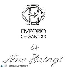 Job vacancies at @emporioorganico  #Repost @emporioorganico  We are looking for casual staff with experience in retail. To be considered you must have the following attributes: Honest & reliable with an even temperament Able to work autonomously Have a passion or background in nutrition Have a keen interest in living a low-tox lifestyle Excellent verbal & written communication Strong attention to detail Ability to work under pressure & deadlines Be very well groomed  Please send your CV and…