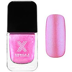 Formula X For Sephora - Transformers Top Coats in Chroma-Zone - hot pink iridescence  #sephora #SephoraSweeps