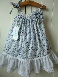 Handmade Baby and Girls Verity Summer Sun Dress by verityisabelle, £32.99