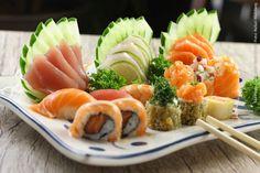Kibo Sushi (jantar)    Combinado sushi e sashimi  23 unidades  12 fatias de sashimi, 3 sushi, 4 especiais, 4 variedades de hotroll
