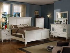 Summer Breeze Bedroom Sets - White