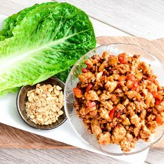 Asian Chicken Lettuce Wraps (better than P.F. Chang's)! A quick, easy, healthy and delicious dinner! Gluten and dairy-free!