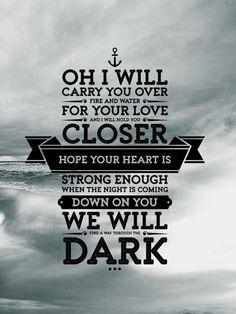 direction quotes Through the Dark, One Direction 1d Quotes, Song Lyric Quotes, Music Lyrics, Music Quotes, One Direction Lyrics, One Direction Wallpaper, Dark Lyrics, 1d Songs, Beautiful Lyrics