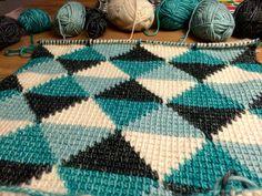 Tunisch haken, tunisian crochet