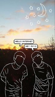 Some Dan and Phil wallpapers: